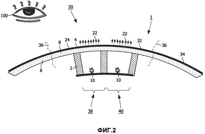 Бытовой прибор с интегральной прозрачной или просвечивающей частью стенки