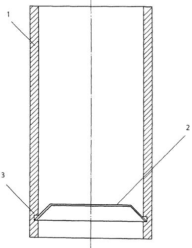 Контейнер для горячего изостатического прессования заготовок стержней топливного сердечника керметного твэла ядерного реактора