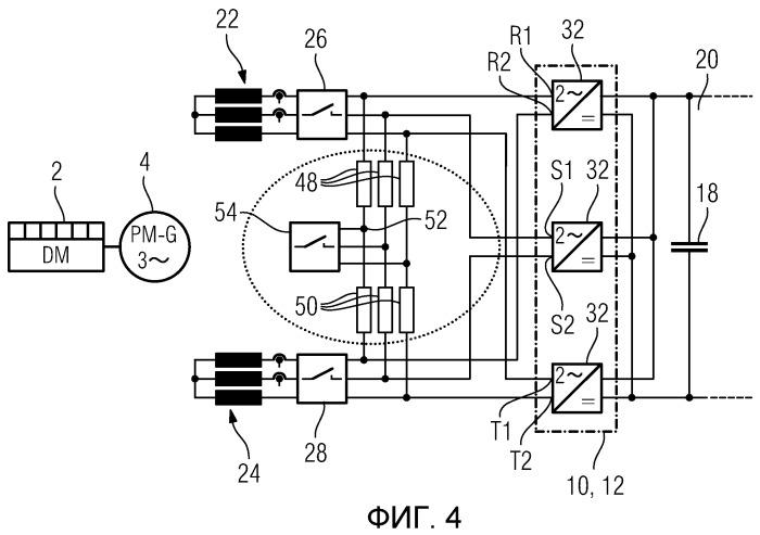 Дизель-электрическая система привода