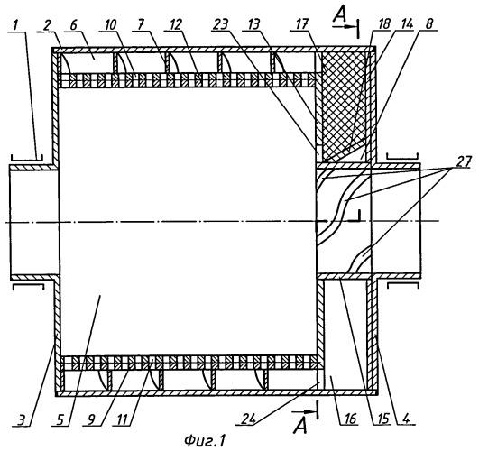 Шаровая барабанная мельница с классифицирующим разгрузочным устройством