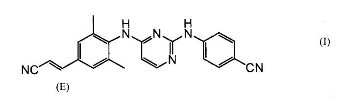 Кристаллическая форма 4-[[4-[[4-(2-цианоэтенил)-2,6-диметилфенил]амино]-2-пиримидинил]амино]бензонитрила