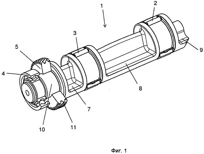Зубчатое колесо и уравновешивающий вал для поршневого двигателя