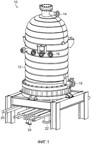 Системы и способы распределения газа в реакторе для химического осаждения из паровой фазы