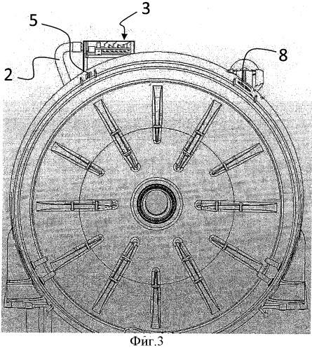 Стиральная машина с устройством предотвращения обратного потока