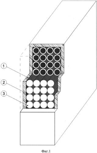 Конструкция строительного наружного ограждения повышенного термического сопротивления