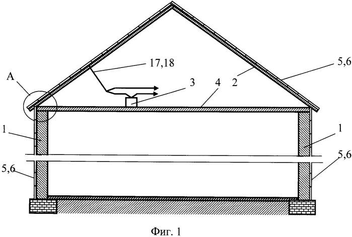 Термоэмиссионная система электроснабжения здания