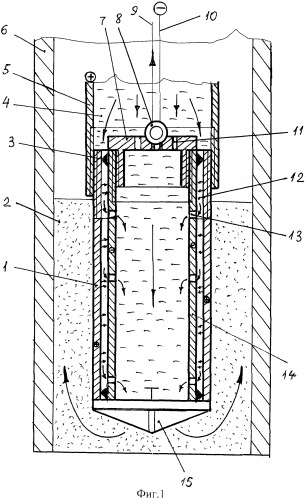 Устройство для удаления фильтра из скважины
