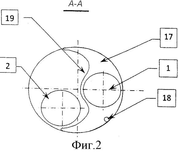 Установка для одновременно раздельной эксплуатации двух продуктивных пластов в одной скважине