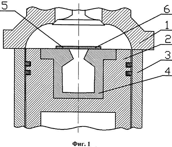 Камера сгорания двигателя внутреннего сгорания с воздушным аккумулятором