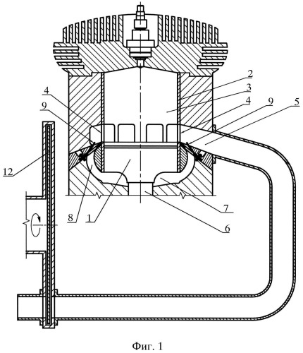 Способ организации газообмена в двухтактном двигателе