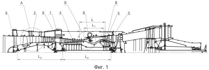 Способ конвентирования двухконтурного турбореактивного двигателя в газотурбинный двигатель наземного применения