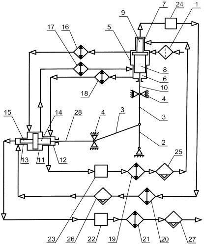Компрессор поршневой шестиступенчатый с прямоугольным расположением цилиндров