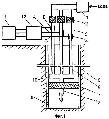 Устройство для теплового воздействия на нефтяной пласт (варианты)