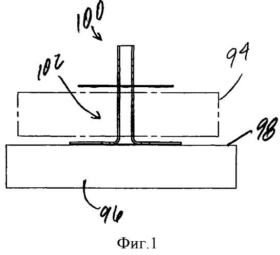 Крепежная кнопка для крепежного узла и крепежный узел (варианты)