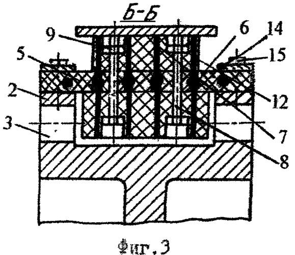 Двухступенчатый ленточно-колодочный тормоз с охлаждением