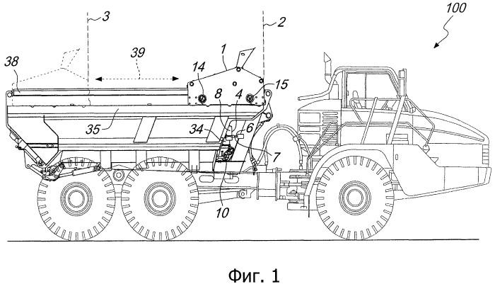 Система и способ смазки для транспортного средства, оснащенного ножевым элементом