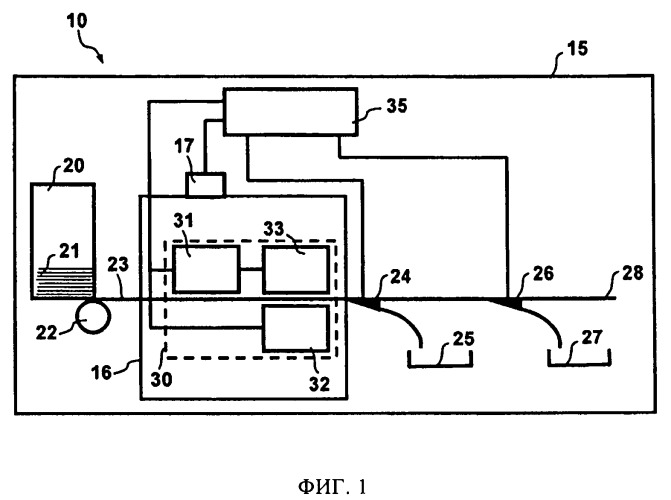 Осветительная система для проверочного устройства