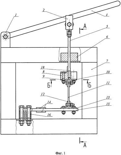Устройство для определения характеристик нормальной жёсткости спиц безвоздушной шины