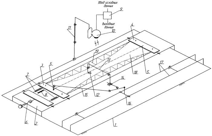 Устройство для измерения продольной и поперечной деформации легкодеформируемых трикотажных полотен