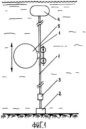 Профилограф для вертикального зондирования морской среды