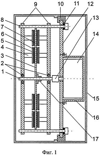 Пьезоэлектрический генератор постоянного тока на основе эффекта казимира