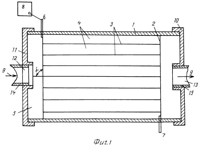 Электронагреватель для проточных текущих сред