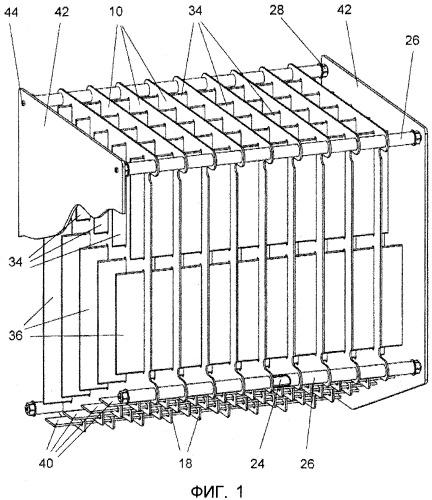 Распределительное устройство для упакованных в коробки товаров для розничных магазинов