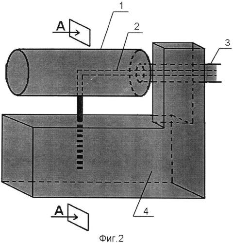 Т-образный монополярный игольчатый электрод для регистрации электрической активности органов желудочно-кишечного тракта животных