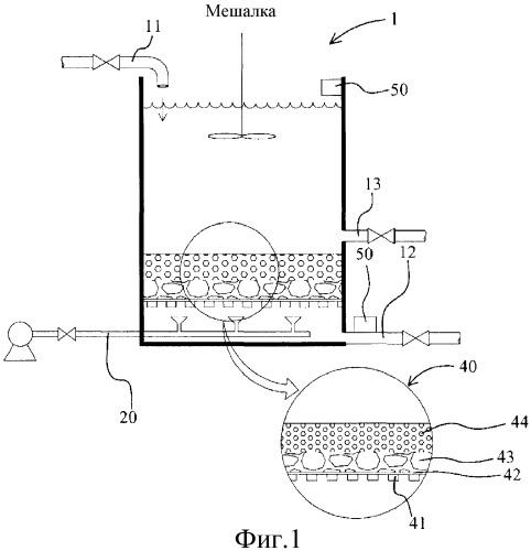 Высокоскоростное фильтрующее устройство, использующее пористую фильтрующую среду, и способ его обратной промывки