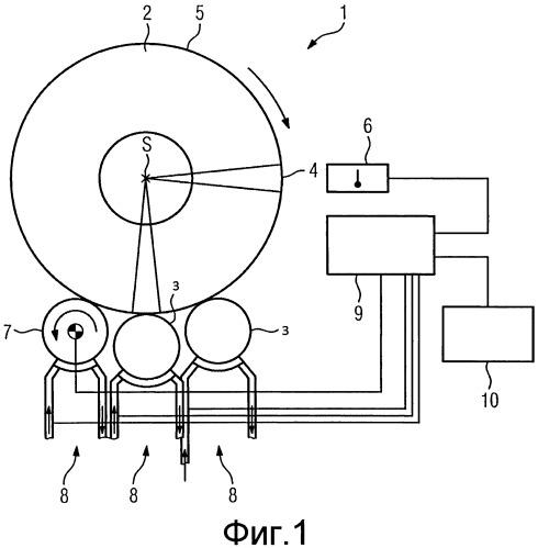 Способ охлаждения горячей полосы, наматываемой в рулон горячей полосы, устройство для охлаждения рулона горячей полосы, устройство управления и/или регулирования и полоса металла