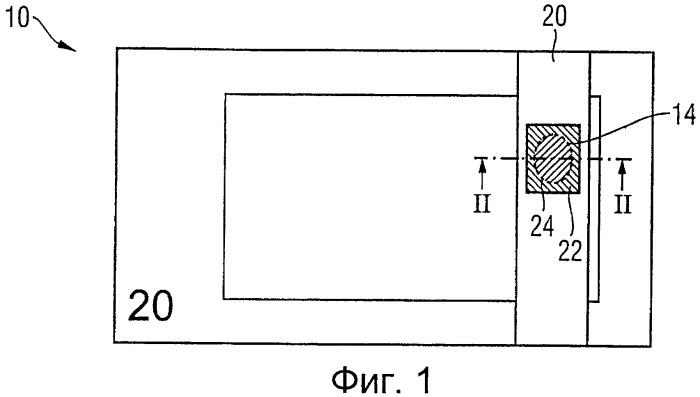 Носитель данных с окном