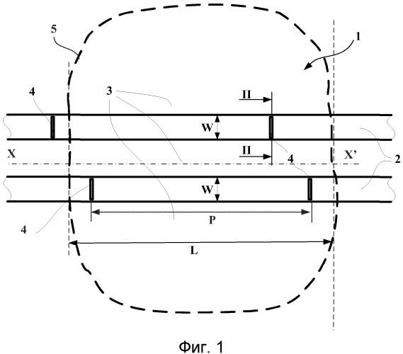 Протектор шины, имеющий улучшенное устройство снижения шума