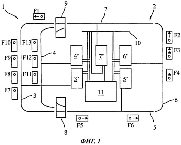 Способ и устройство для индуктивной передачи электроэнергии подвижному потребителю