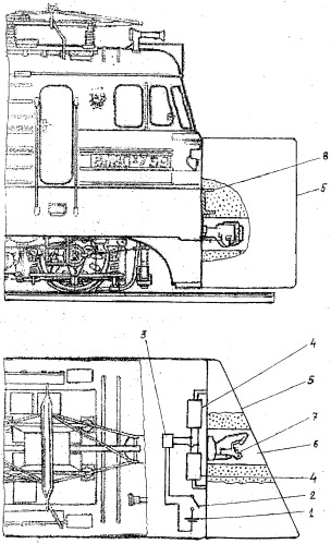 Система пассивной безопасности локомотива
