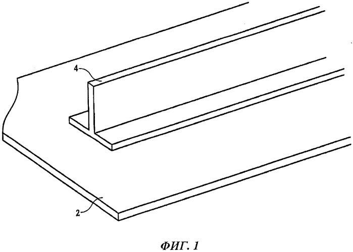 Устройство и способ для изготовления элемента жесткости с наклонным участком