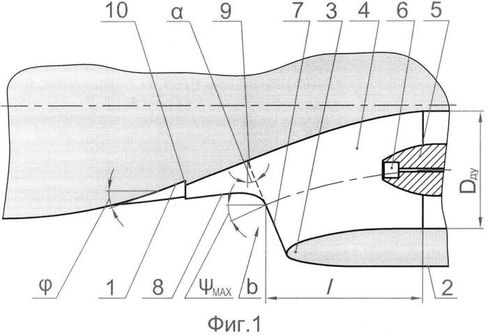 Компактное воздухозаборное устройство беспилотного летательного аппарата
