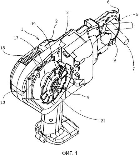 Устройство для обвязки арматурных прутков