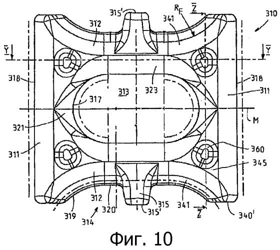 Звеньевая цепь для цепных конвейеров и ее горизонтальные цепные звенья