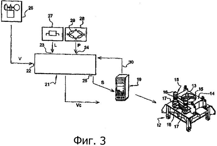 Способ управления поворотом поворотной части башенного крана