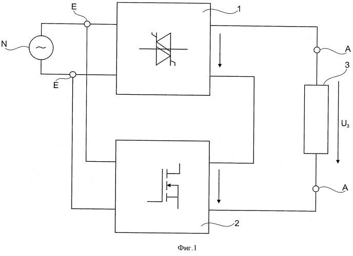 Устройство и способ равномерного электропитания кремниевого стержня