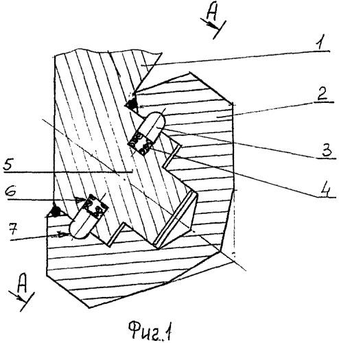 Способ монтажа опоры шарошечного долота