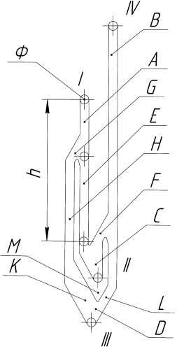 Паз на стволе противополетного устройства или пакера