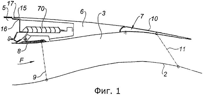 Гондола двухконтурного турбореактивного двигателя