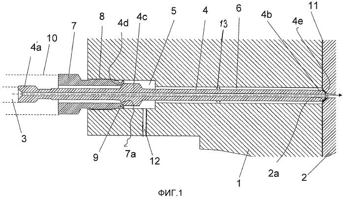 Соединительная конструкция высокого давления с держателем инжектора в системе с общей топливной магистралью