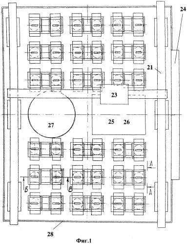 Проточный электрогенератор и подводная электростанция на стационарной платформе
