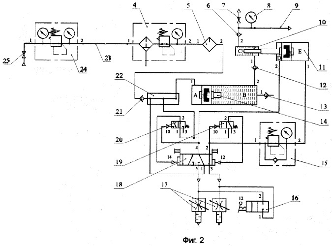 Автоматическое нагнетательное устройство высоковязких материалов