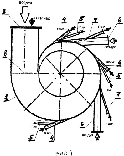 Способ вихревого сжигания и/или газогенерации твердых топлив и реактор для его осуществления
