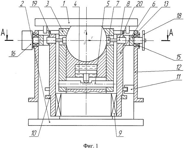 Устройство для управления пространственным положением обрабатываемой детали на станке