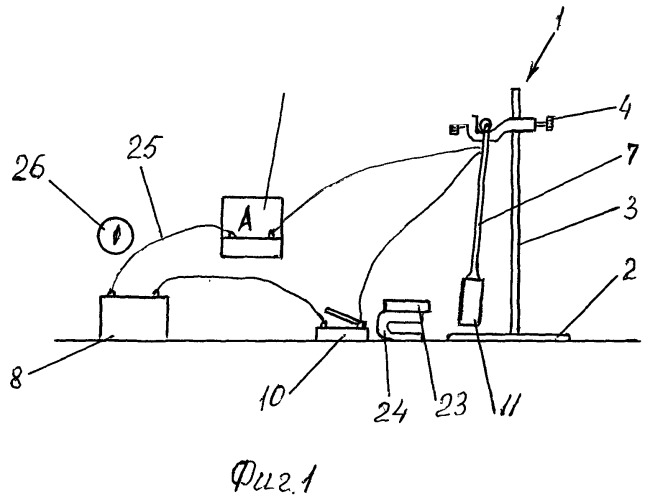 Учебный прибор для изучения законов электромагнитной индукции
