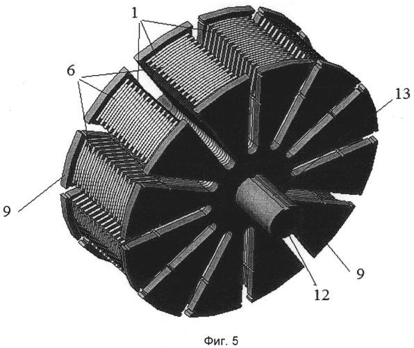 Многофазный трансформатор и способ его сборки